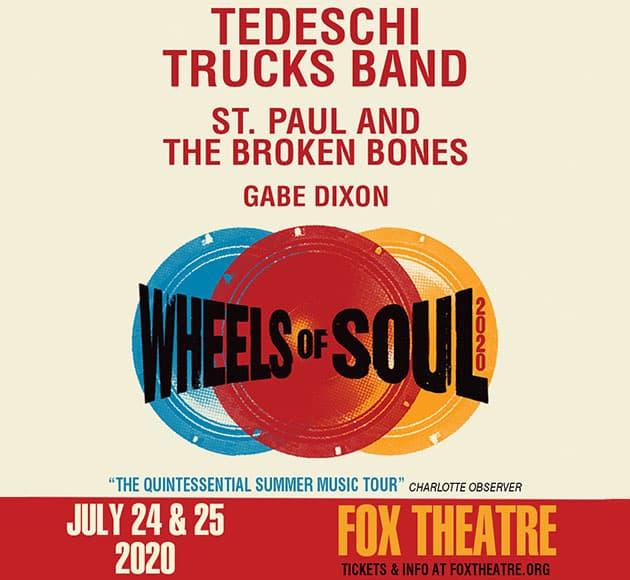 More info for Tedeschi Trucks Band: Wheels of Soul 2020