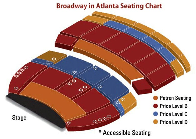 3D Broadway Seating Chart