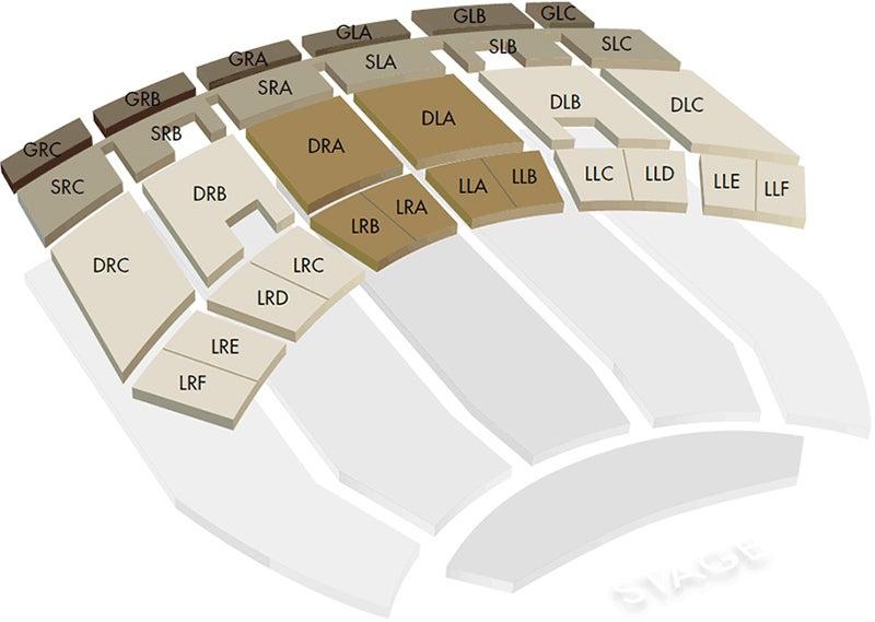 3D Balcony Seating Chart