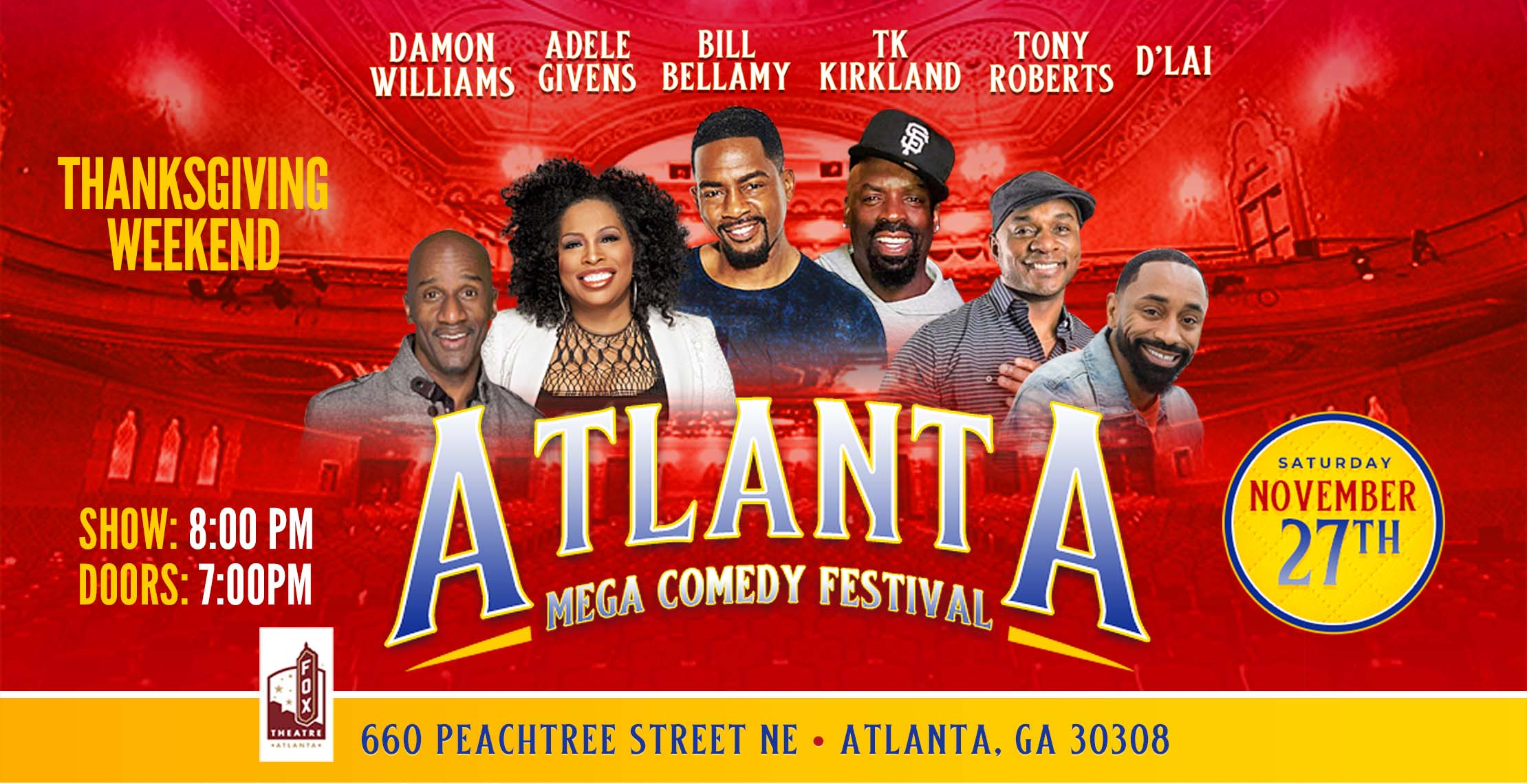 Atlanta Mega Comedy Festival