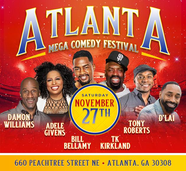 More info for Atlanta Mega Comedy Festival