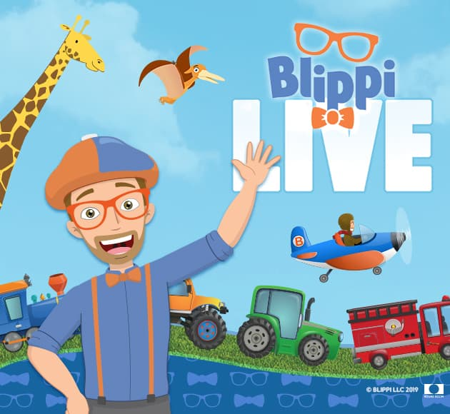 More info for Blippi Live