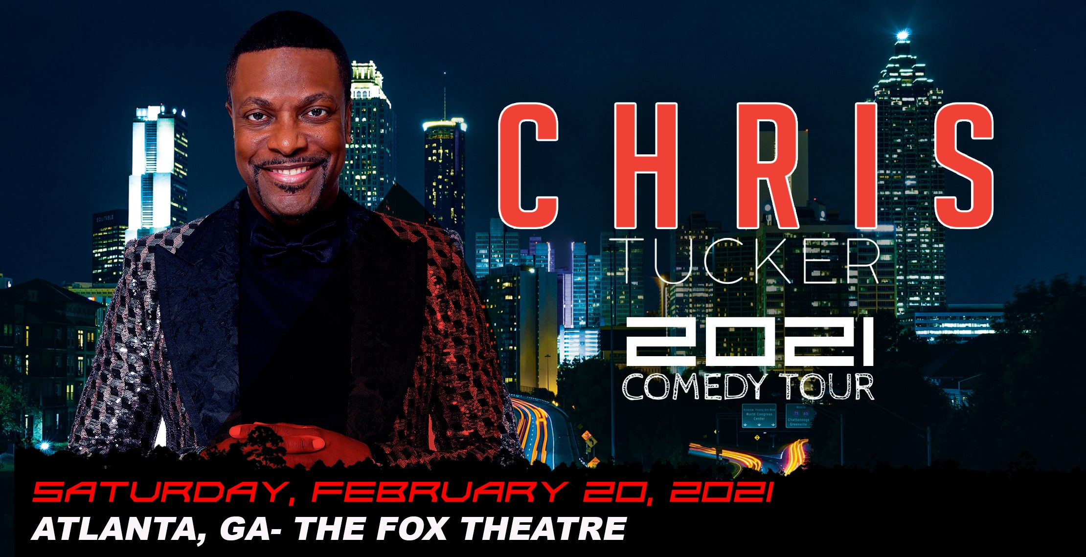 RESCHEDULED - Chris Tucker