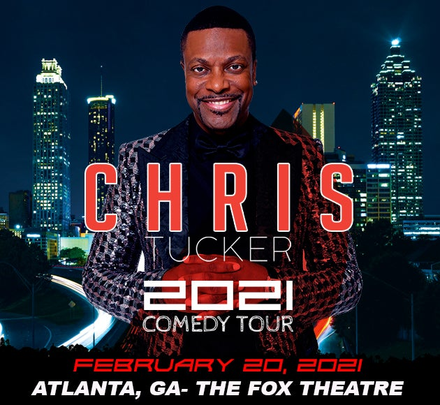 More info for RESCHEDULED - Chris Tucker