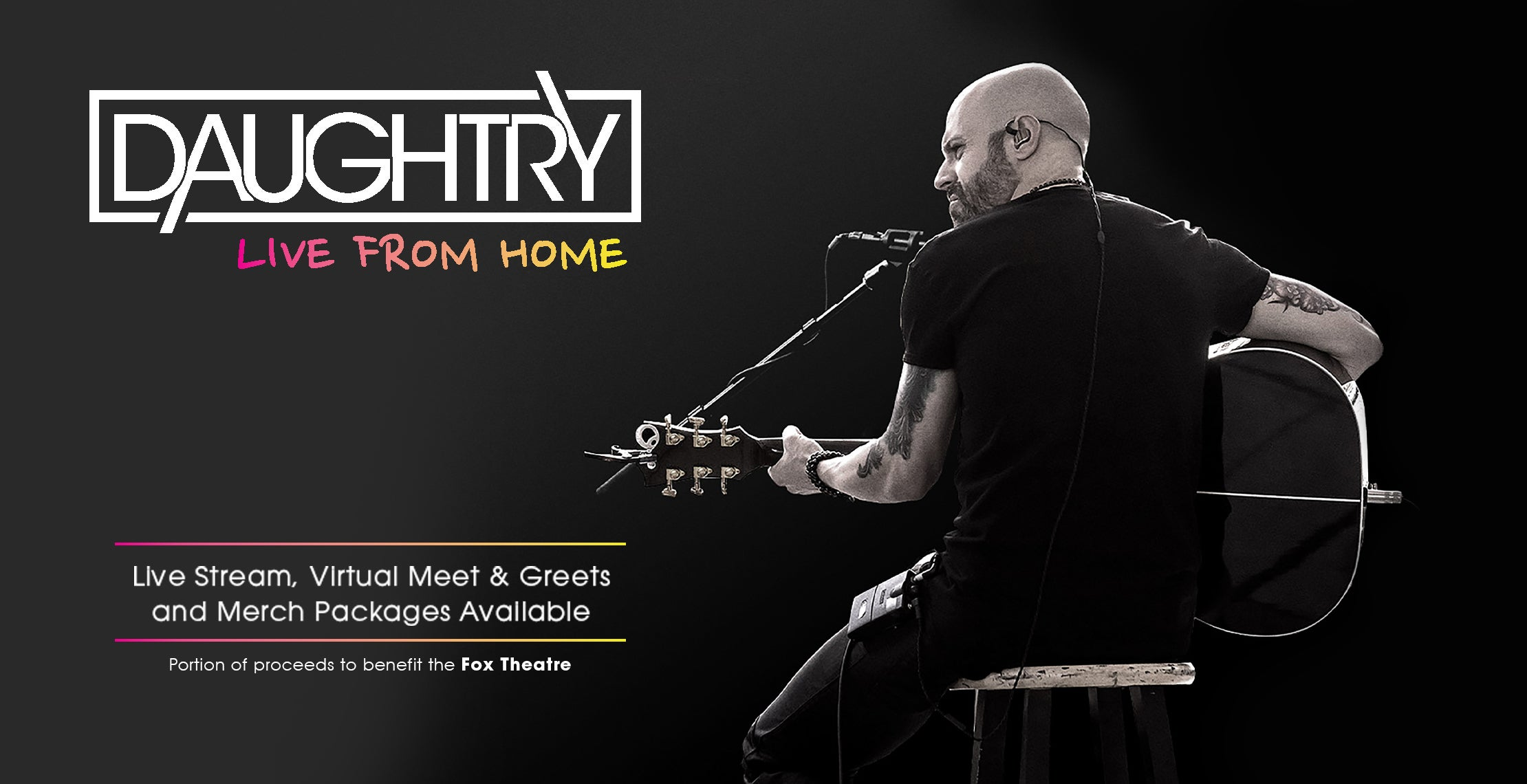 DAUGHTRY LIVE FROM HOME TOUR