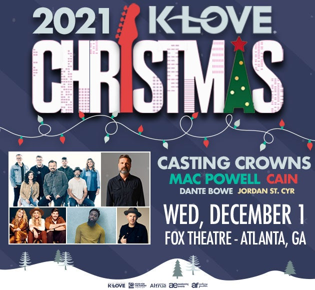 More info for KLove Christmas Tour