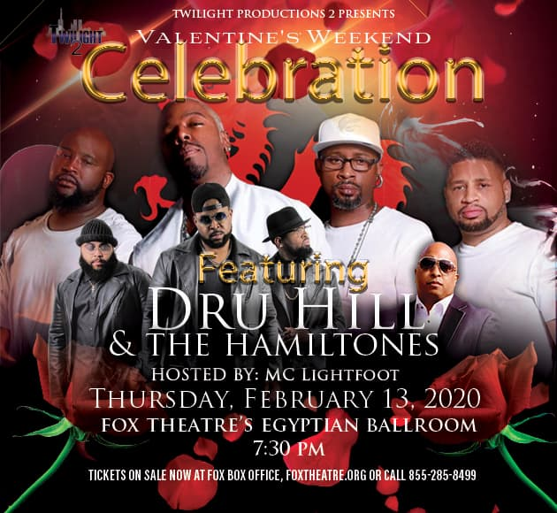 More info for Dru Hill & The Hamiltones Valentine's Weekend Celebration