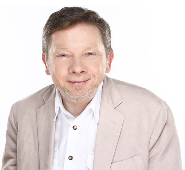 More info for RESCHEDULED - Eckhart Tolle