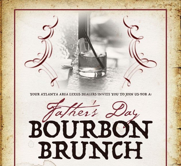 Father's Day Bourbon Brunch