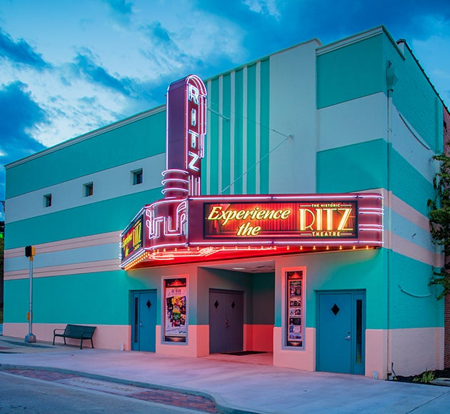Historic Ritz Theatre at the Schaefer Center