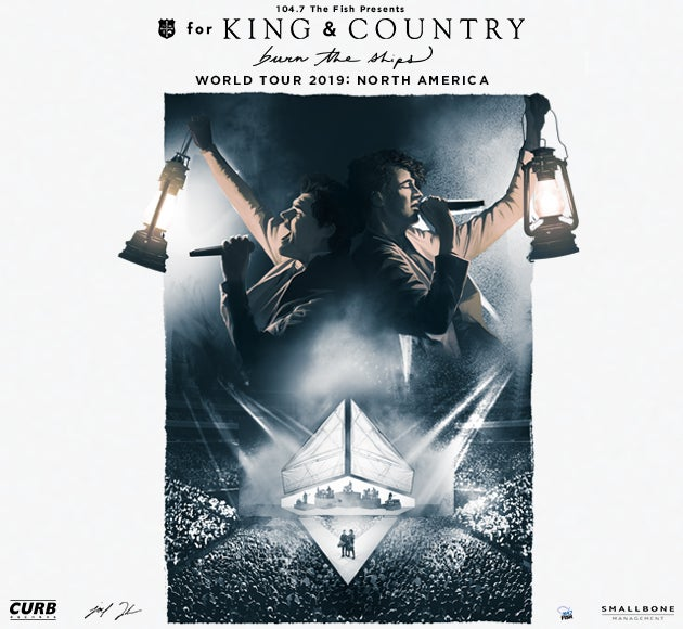 for KING & COUNTRY 'Burn The Ships Tour'