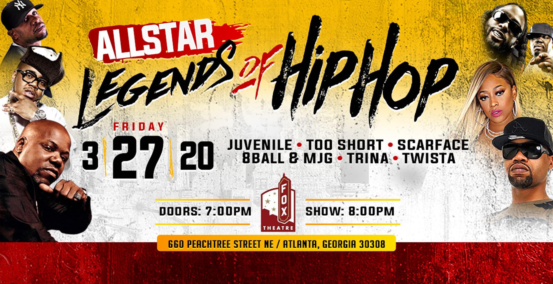 AllStar Legends of Hip Hop