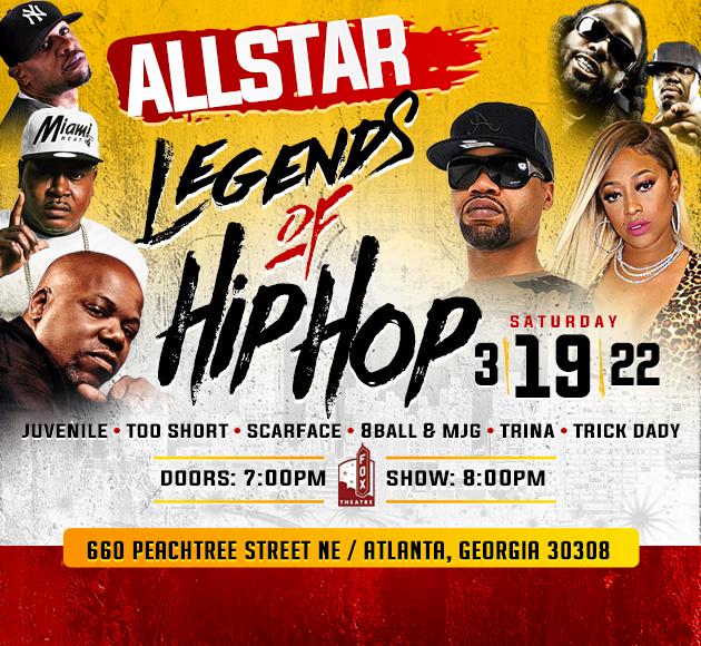 More info for Allstar Legends of Hip Hop