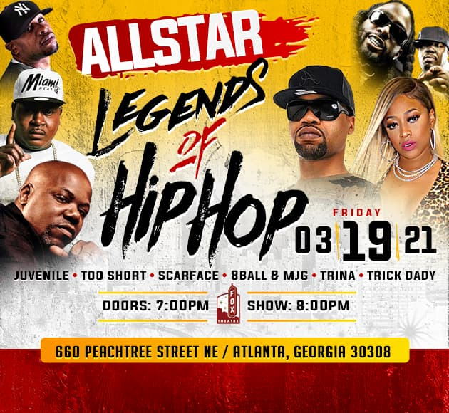 More info for AllStar Legends of Hip Hop
