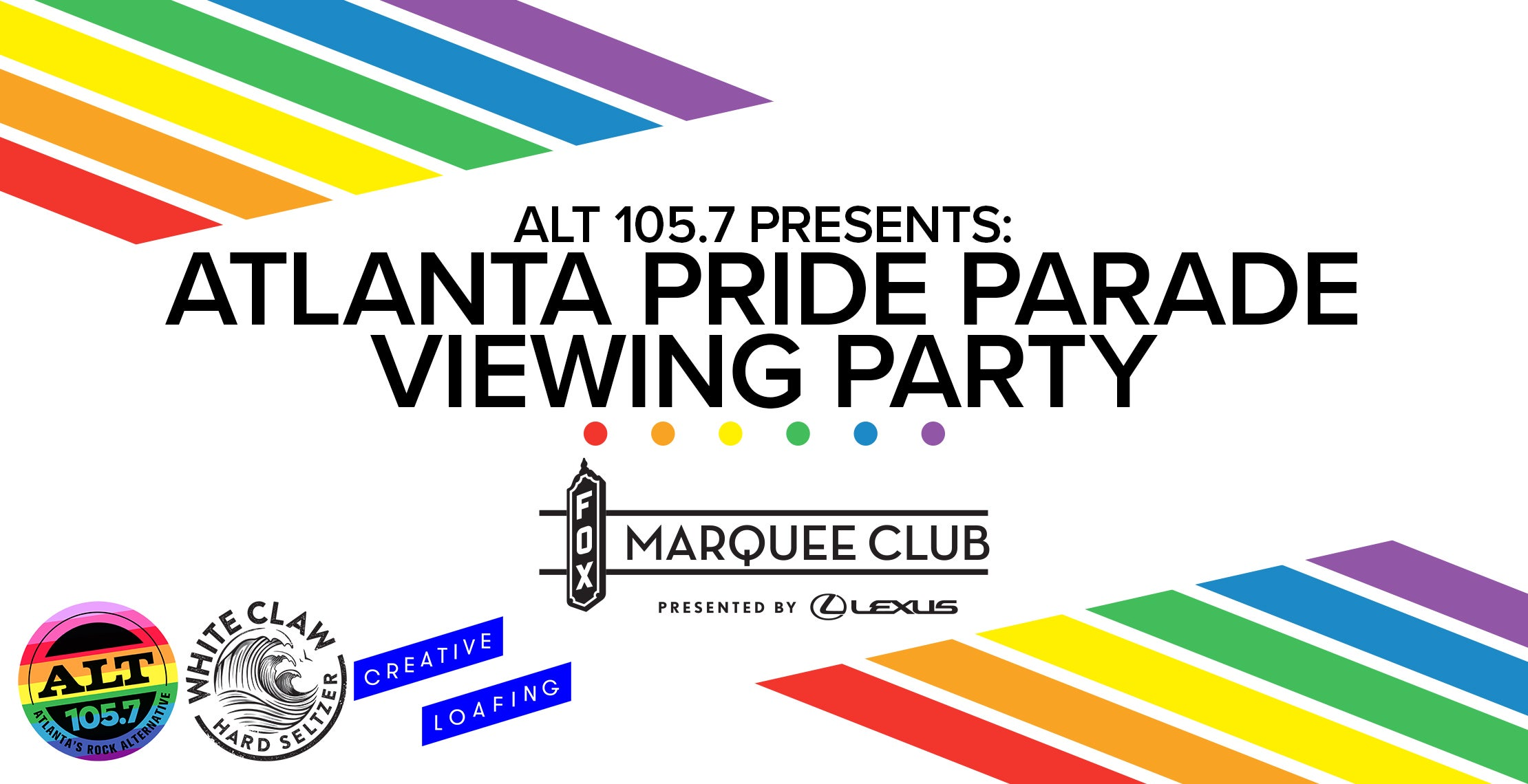 ALT 105.7 presents: Atlanta Pride Parade Viewing Party