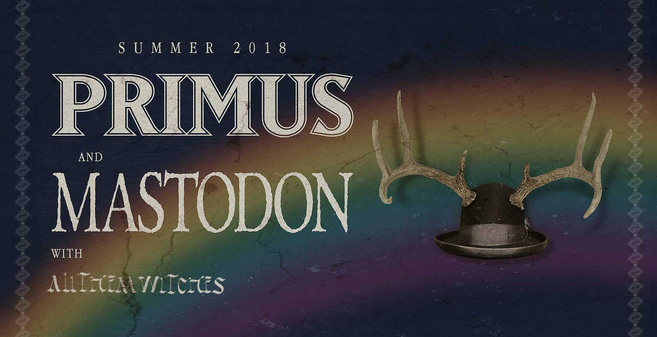 Primus and Mastodon