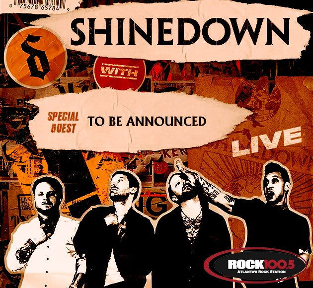 More info for Rock 100.5 Presents Shinedown