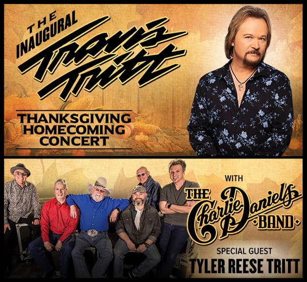 More info for Travis Tritt's Thanksgiving Homecoming