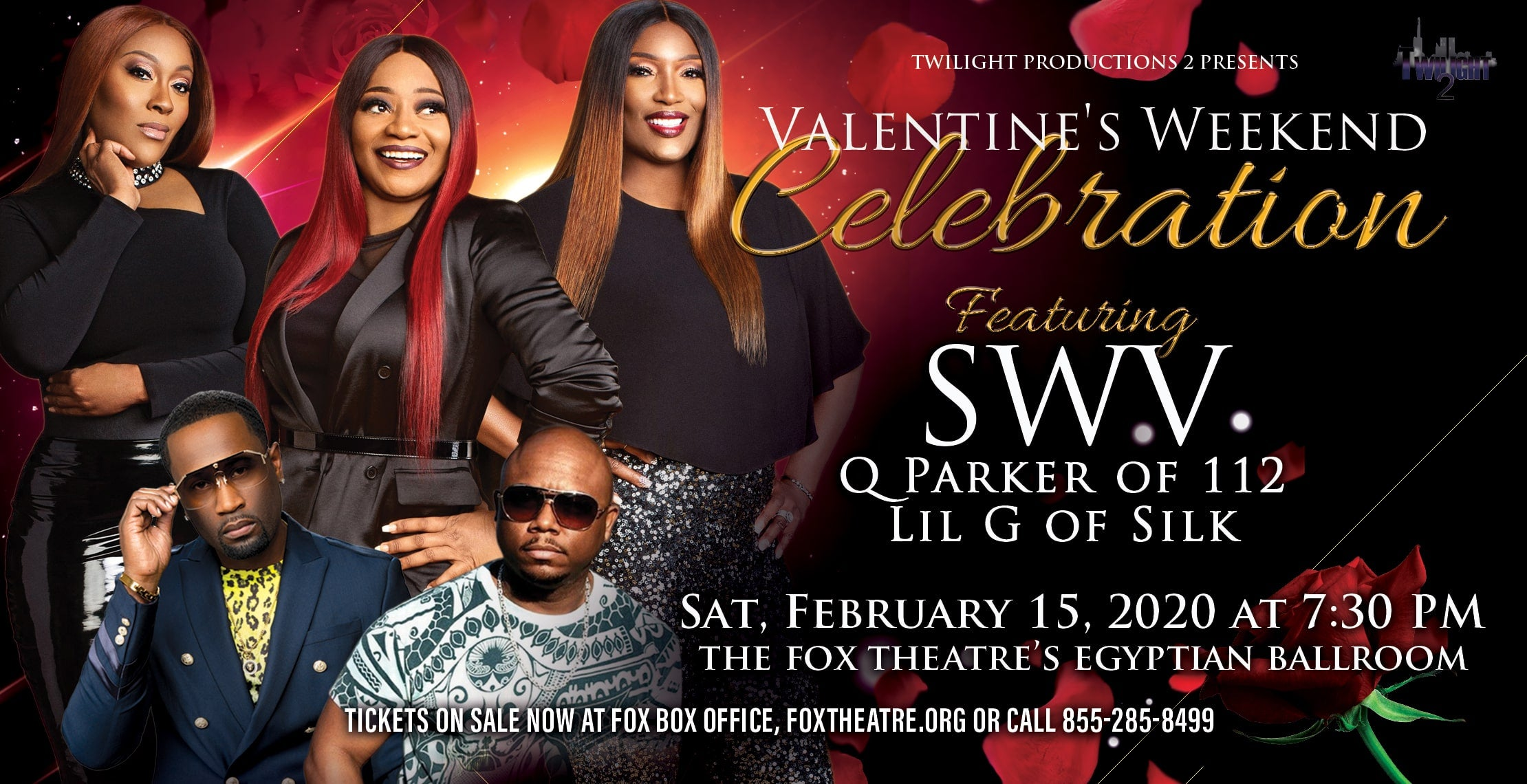 SWV's Valentine's Weekend Celebration