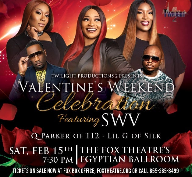 More info for SWV's Valentine's Weekend Celebration