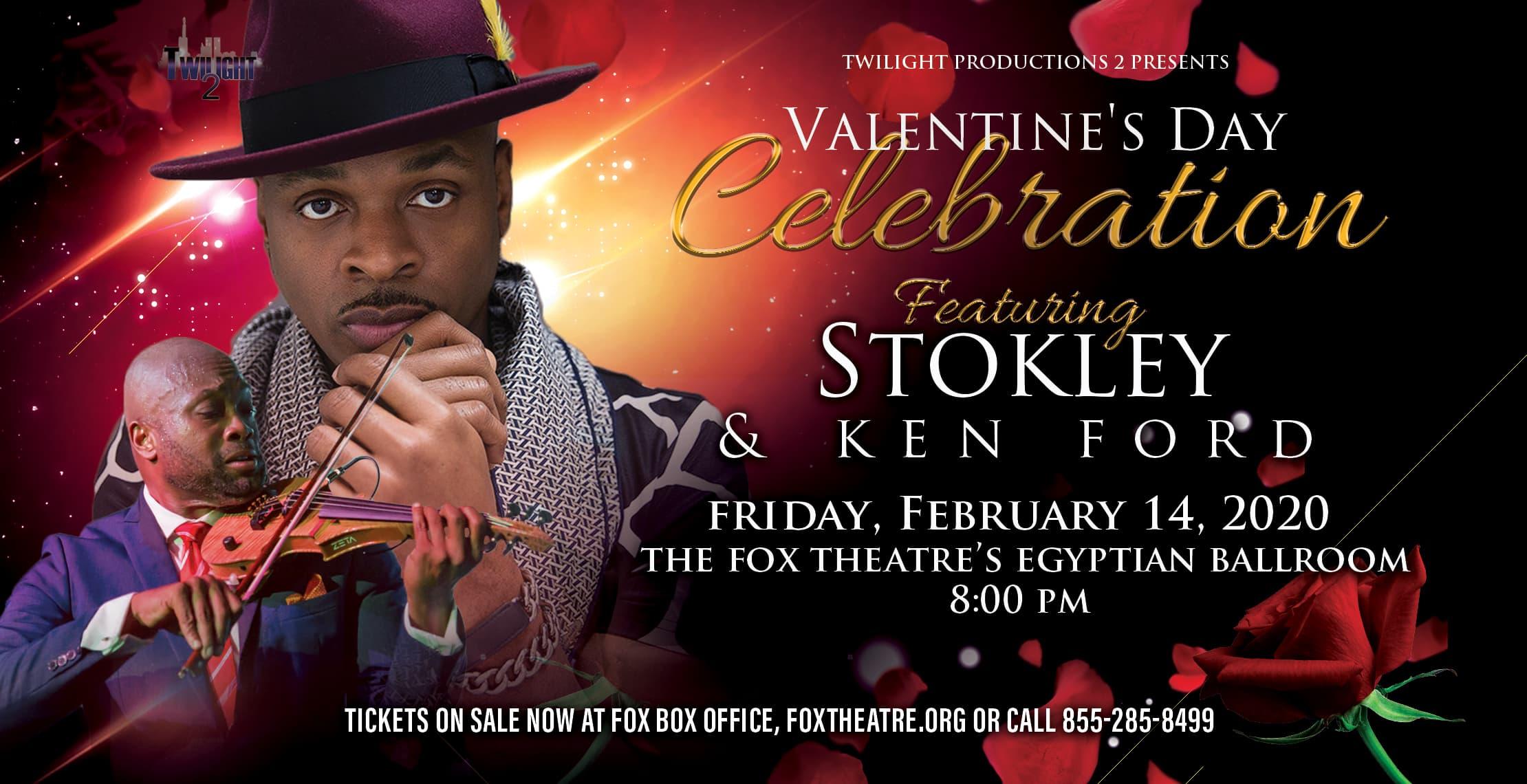 Stokley & Ken Ford Valentine's Day Celebration