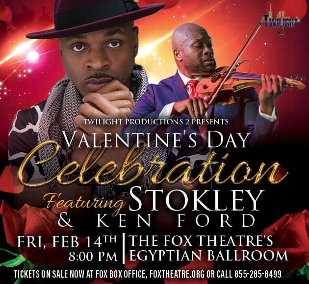 More info for Stokley & Ken Ford Valentine's Day Celebration