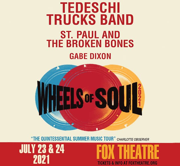 More info for RESCHEDULED - Tedeschi Trucks Band: Wheels of Soul 2021