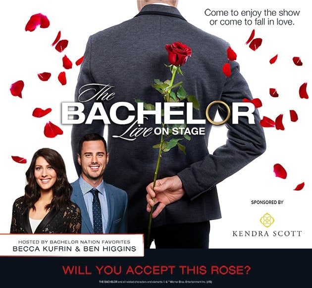 More info for POSTPONED - The Bachelor Live On Stage