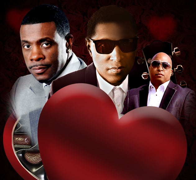"Kenny ""Babyface"" Edmonds and Keith Sweat Valentine's Day Celebration for ""Lovers and Friends"""