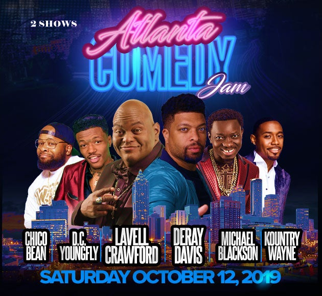 Atlanta Comedy Jam | Fox Theatre